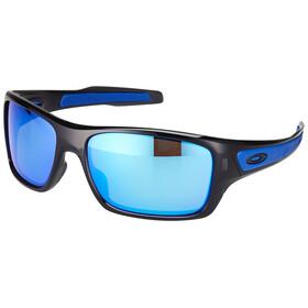 Oakley Turbine Okulary rowerowe niebieski/czarny